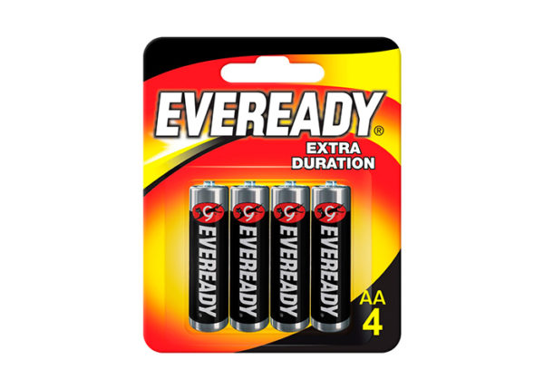 Pilas Eveready AA